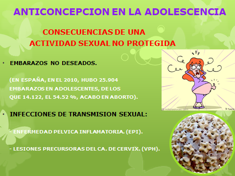 ANTICONCEPCION EN LA ADOLESCENCCIA-4pptx