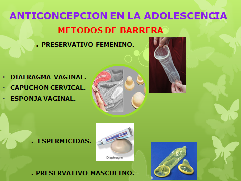ANTICONCEPCION EN LA ADOLESCENCCIA-9pptx