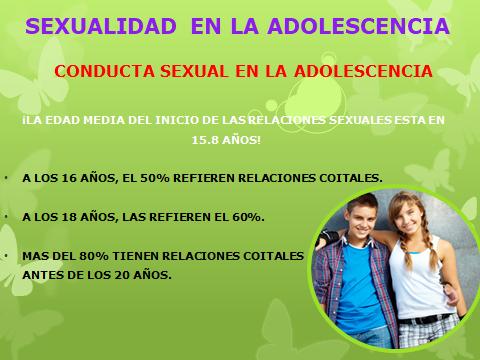 SEXUALIDAD EN LA ADOLESCENCIA 23