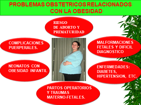 PROBLEMAS OBSTETRICOS. OBESIDAD.