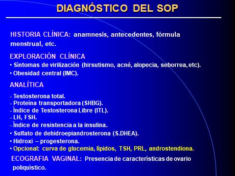 OVARIOS POLIQUISTICOS. DIAGNOSTICO-2