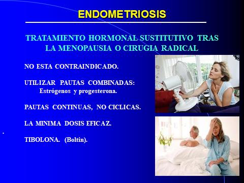 ENDOMETRIOSIS Y THS.