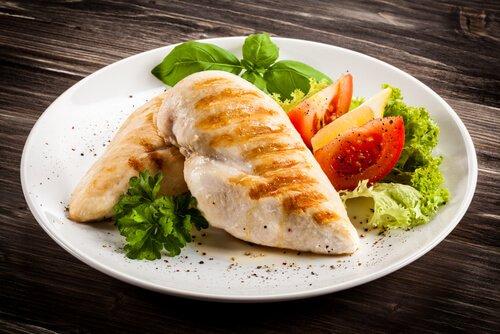 CENA. pollo-verduras