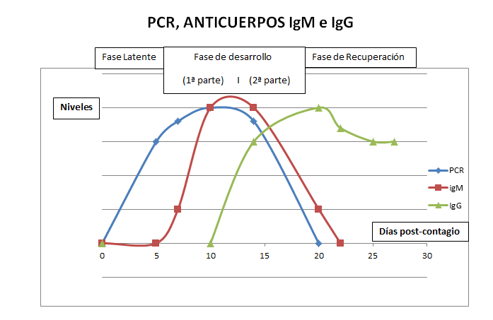 GRAFICA PCR Y ANTICUERPOS
